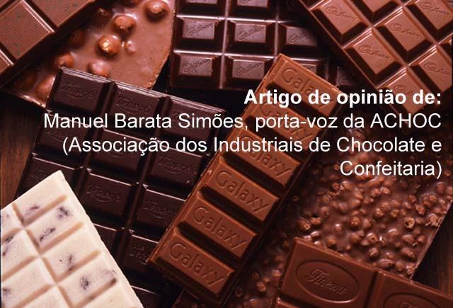 Chocolate: um alimento delicioso