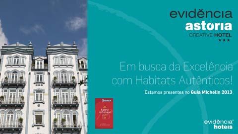 Evidência Astoria Creative Hotel