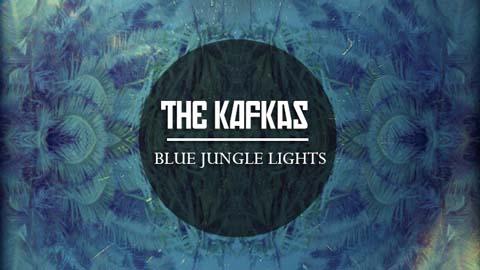 The Kafkas com Blue Jungle Lights
