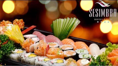 Sesimbra Hotel & Spa e arte do sushi