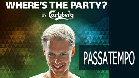 Passatempo Where's the party by Carlsberg / Look Mag