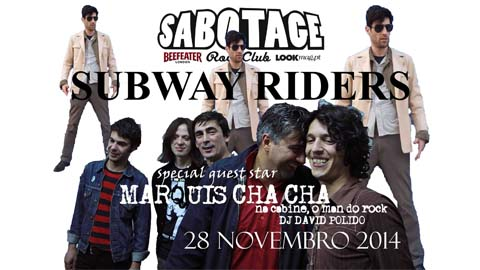 Sabotage Rock Club: 28 novembro