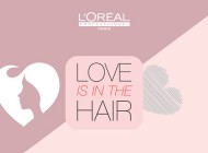 "L'Oréal Professionnel lança campanha ""Love is in the Hair"""