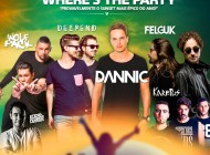 Carlsberg Where's the Party com cartaz fechado