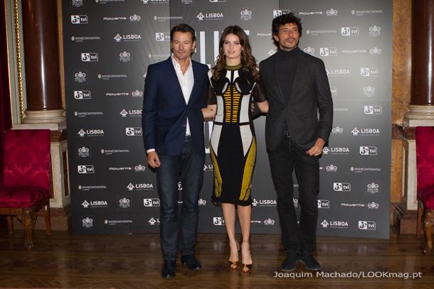 Alex Lundqvist, Isabeli Fontana e Andrés Velencoso