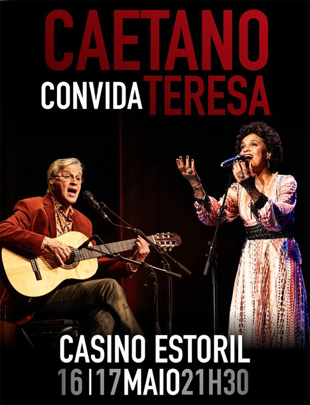 Caetano Veloso prepara dois concertos no Casino Estoril
