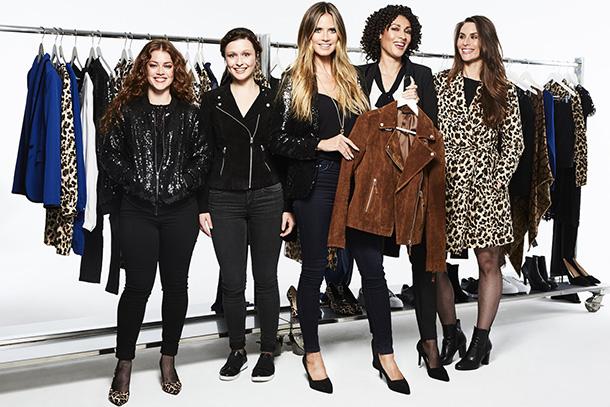 """""""Heidi & The City"""" é o tema da primeira coleção de moda conjunta Heidi Klum e Lidl. A estreia mundial terá lugar na New York Fashion Week em setembro."""