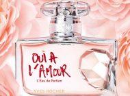 A nova Eau de Parfum Oui à L'Amour da Yves Rocher
