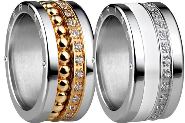 A coleção Artic Symphony, da Bering Jewellery combina aço inoxidável com diversos materiais de alta qualidade como a cerâmica high-tech, cristais SWAROVSKI e malha milanesa.