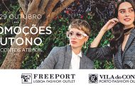 Freeport Lisboa Fashion Outlet e Vila do Conde Porto Fashion Outlet com campanha de descontos