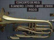 NorteShopping recebe Concerto de Reis com a Banda Sinfónica Portuguesa