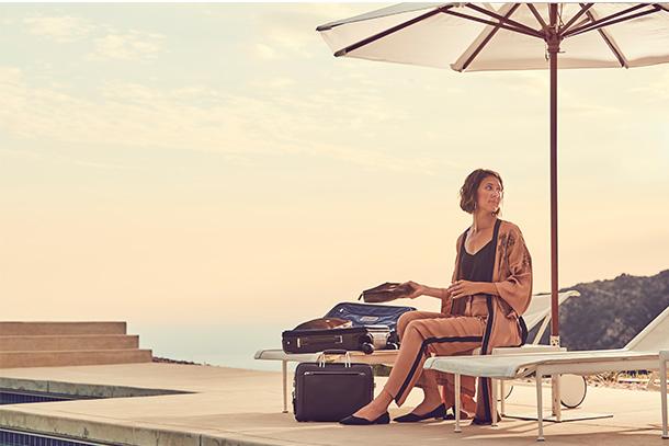 A coleção da TUMI para a Primavera de 2018 tem como inspiração a Califórnia, com a sua ampla variedade de paisagens e cidades beijadas pelo sol.