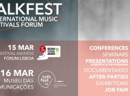7.ª edição Talkfest – International Music Festivals Forum
