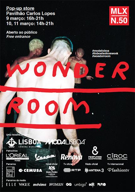 ModaLisboa N.50 apresenta 18 jovens marcas portuguesas que estarão representadas na plataforma Wonder Room, no Pavilhão Carlos Lopes, nos dias 9, 10 e 11 de Março.