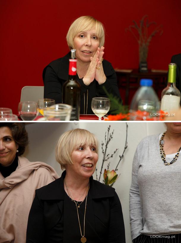 O turismo de habitação de Palmela, Casa de Atalaia, promoveu um jantar onde homenageou a mulher.