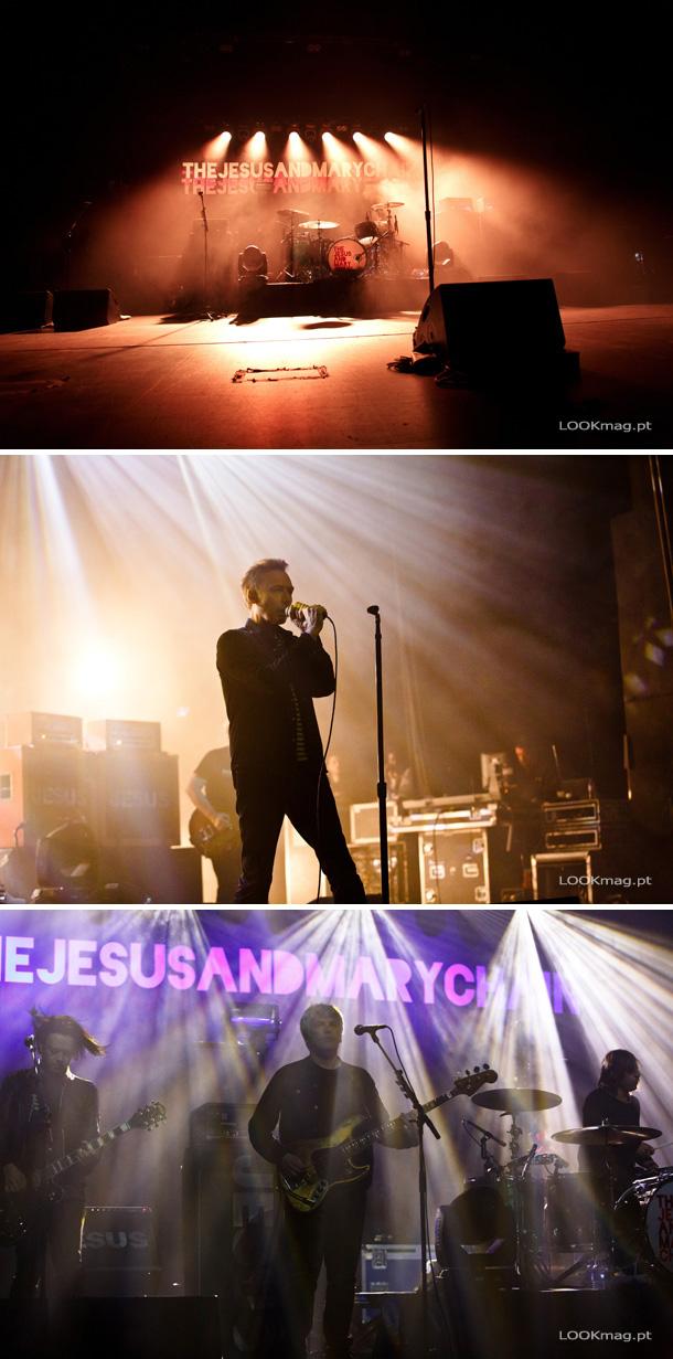 Na noite de 28 de Maio, The Jesus and Mary Chain apresentaram um concerto impecável com um alinhamento irrepreensível.