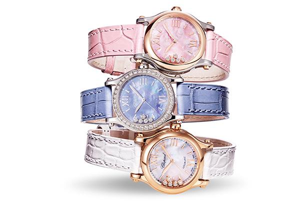 A Chopard celebra o 25º aniversário do relógio icónico da marca, Happy Sport, um modelo icónico que quebrou com todas as regras da relojoaria.