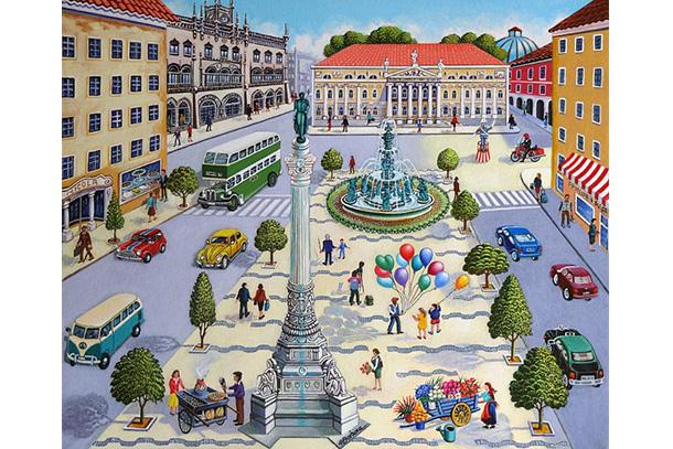 O Casino Estoril inaugura o XXXVIII Salão Internacional de Pintura Naïf com a presença de 19 autores.