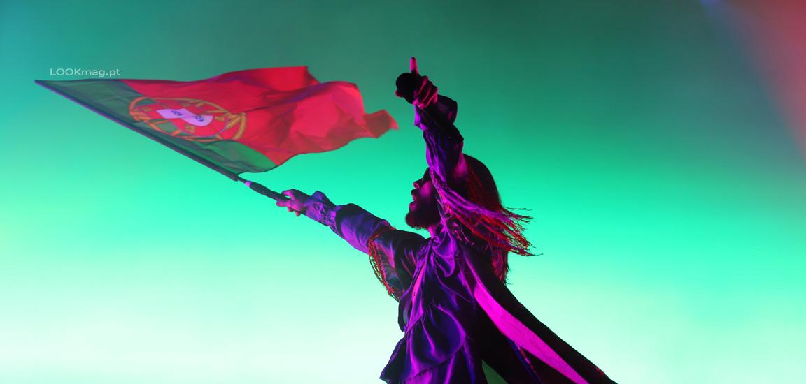 """Thirty Seconds to Mars regressaram a Portugal, para apresentar ao vivo os temas de """"America"""", o seu mais recente registo discográfico."""