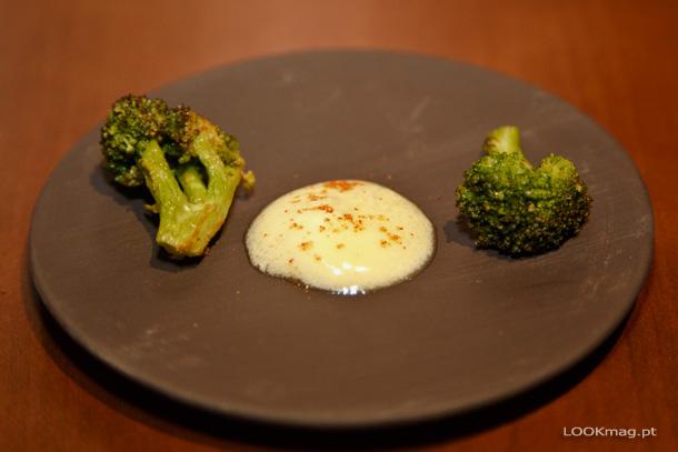 Bróculos caramelizados