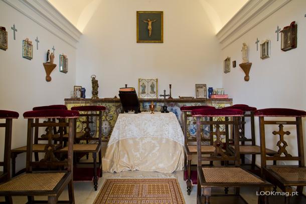 A capela do antigo colégio jesuíta