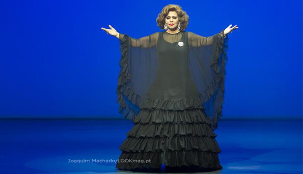 """""""Amália - o Musical"""", de Filipe la Feria em cena no palco do Teatro Politeama"""
