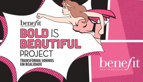 Benefit Portugal apresenta o projeto solidário Bold is Beautiful