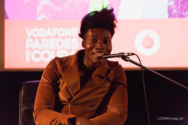 No último dia da edição 2017 do Vodafone Paredes de Coura, Benjamin Clementine subiu à vila minhota para, no Centro Cultural, dar uma conferência de imprensa exclusiva