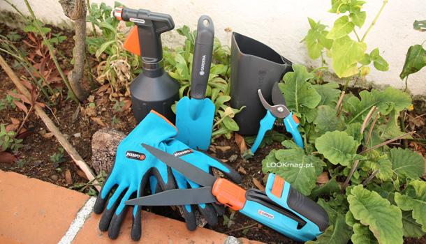 : Com o tempo mais quente a jardinagem é uma das nossas actividades preferidas. Desta vez o pretexto foram os novos utensilios da Gardena.