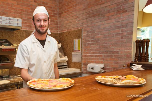 Pizzas e massas fazem as delicias dos visitantes. Entre eles nós que depois de uma visita ficámos rendidos aos sabores prometendo desde já um regresso para breve.