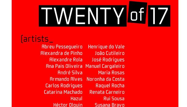 TWENTY of 17 a nova exposição da DaVinci art gallery