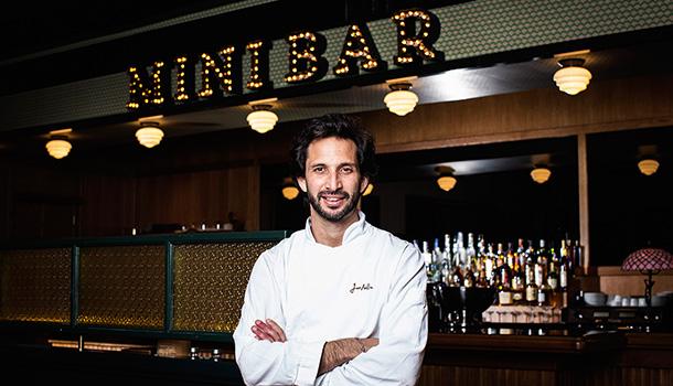 O Mini Bar de José Avillez será um espaço divertido, com uma cozinha surpreendente e um ambiente único, em que a música tem um lugar de destaque.