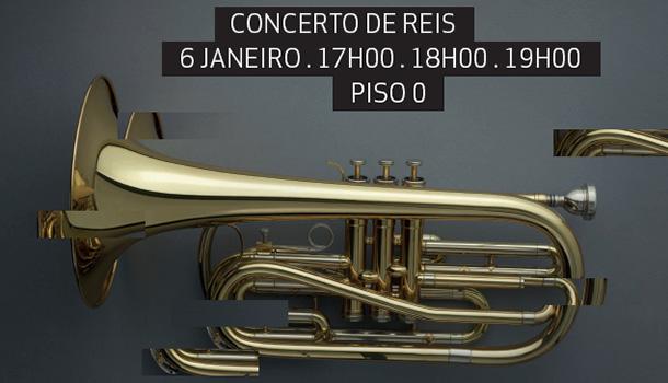 O NorteShopping, em parceria com a Casa da Música, celebra a entrada no Novo Ano e o Dia de Reis, com um concerto único da Banda Sinfónica Portuguesa.