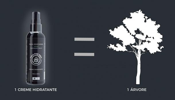 """A FOLS está realizar uma campanha solidária: por cada produto vendido será plantada uma árvore em colaboração com a associação """"Plante Esta Ideia""""."""