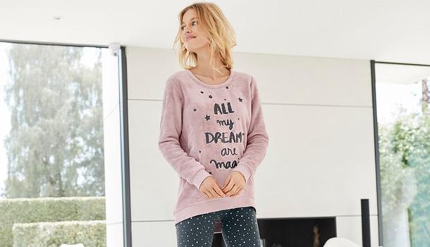 A La Redoute apresenta a sua nova coleção de homewear, com opções para todos os gostos e idades. Para que desfrute ao máximo os momentos de descanso.