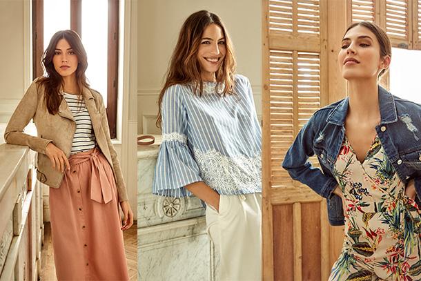 Resultado de imagem para moda primavera verão springfield 2018