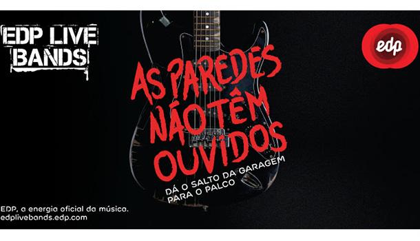 """O projeto EDP Live Bands – iniciativa que promove a música de bandas de """"garagem"""" – vai expandir-se pela primeira vez a Espanha este ano."""