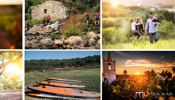 Os hotéis M'AR De AR sugerem cinco pacotes com actividades variadas para as férias de Verão que se aproximam.