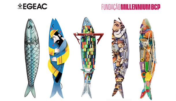 As tradicionais sardinhas das Festas de Lisboa chegam à Galeria Millennium.