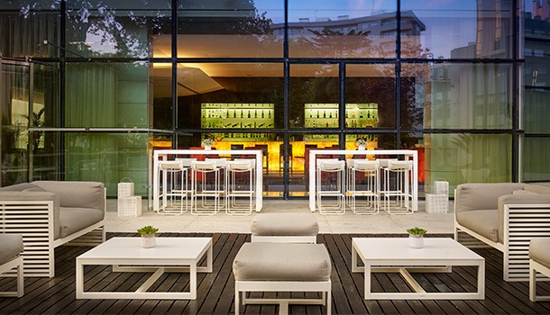 Até ao próximo mês de Setembro, acontece o Summer Lounge do Sheraton Porto Hotel & Spa.