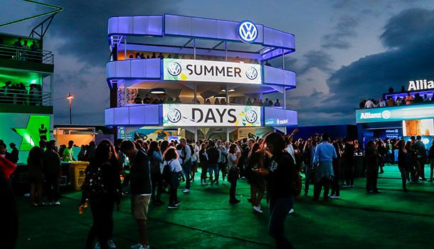 A Volkswagen prossegue a sua associação ao festival NOS Alive.