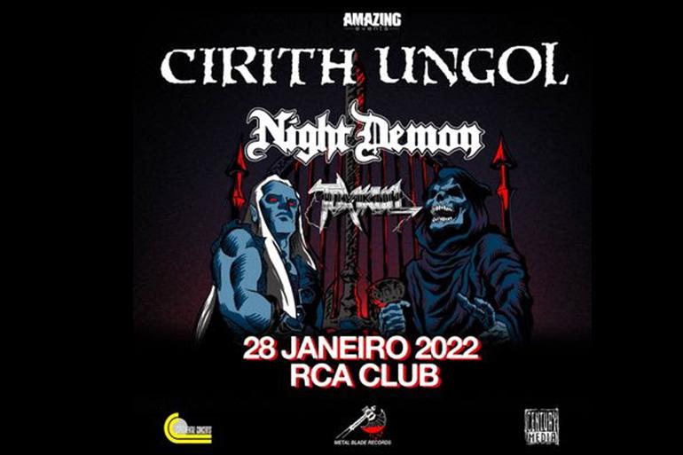 Cirith Ungol anunciam concerto em Portugal