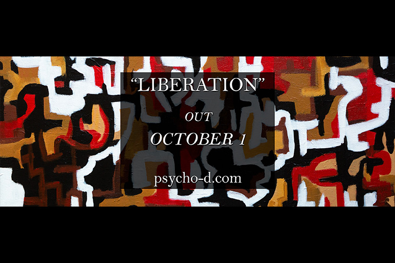 """A uma semana do lançamento do seu single de estreia, a banda lisboeta PSYCHO-D divulga hoje o teaser de """"Liberation""""."""