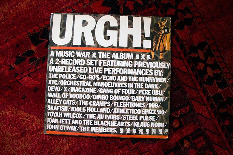 'Urgh! A Music War' é uma espécie de catálogo, em formato áudio e vídeo, de bandas mais ou menos emergentes da colheita pós-77.