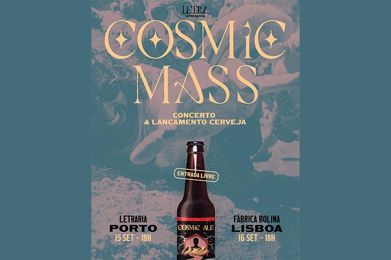 Alienation é o mais recente trabalho de Cosmic Mass. Dia 15 a banda lança esta Cosmic Ale na Letraria no Porto, e a 16 em Marvilla, Lisboa.